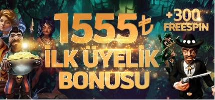 Casino Slot ilk üyelik Bonusu